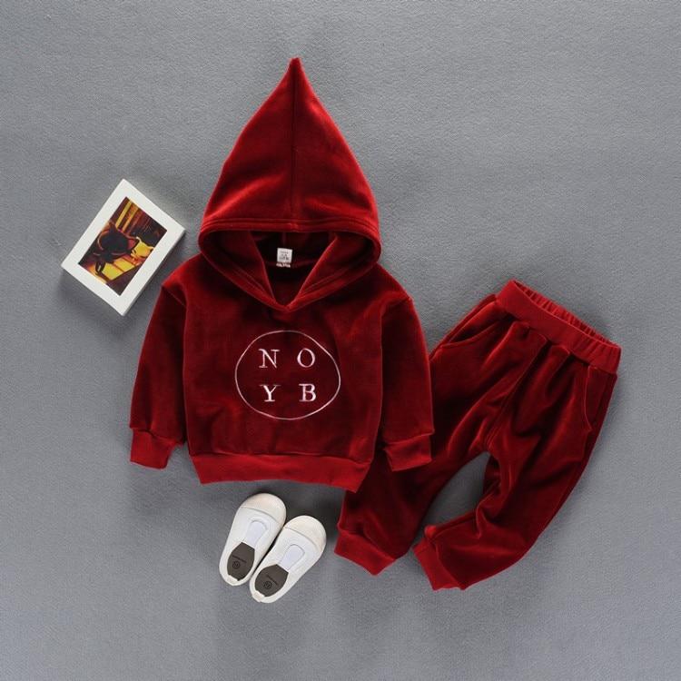 2019 Oferta Specjalna Pełna Solidna Aktywna Płaszcz Unisex Sweter Z - Ubrania dziecięce - Zdjęcie 4