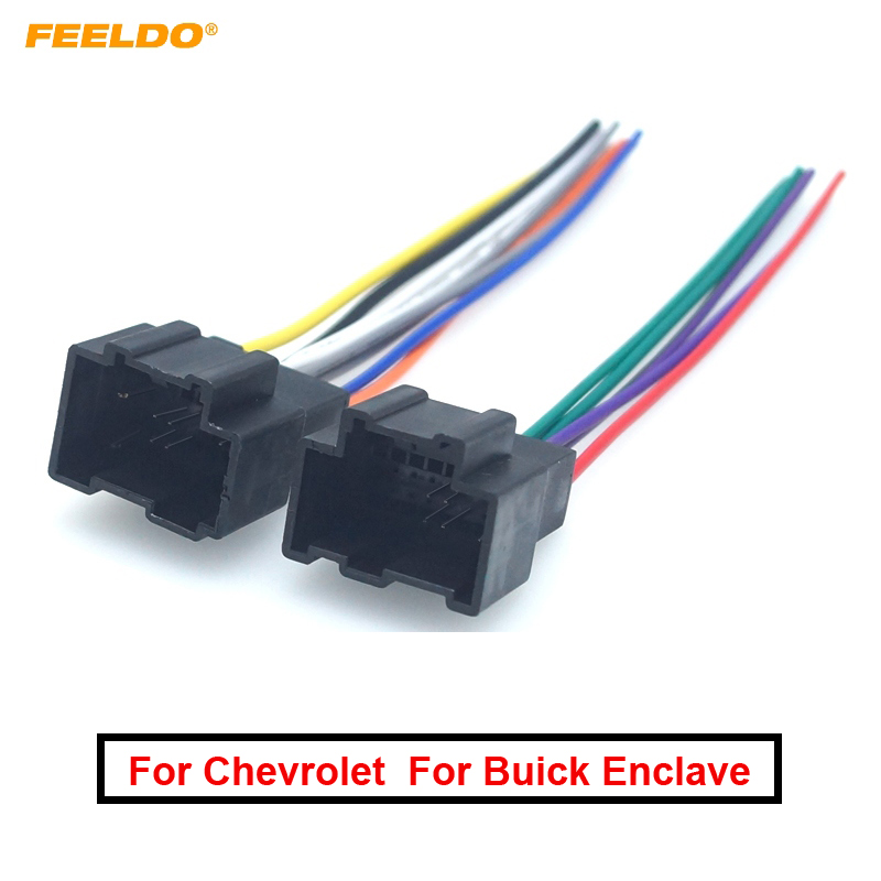 [DVZP_7254]   Car Radio Audio ISO Wiring Harness Cable Adapter For Chevrolet Captiva  Enclave Silverado Tahoe Stereo Plug Into Factor Wire|Cables, Adapters &  Sockets| - AliExpress | Chevrolet Audio Wiring |  | www.aliexpress.com