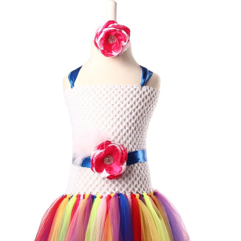 Keenomommy Candy Rainbow Flower Girls Tutu Klänning för Födelsedag - Barnkläder - Foto 4