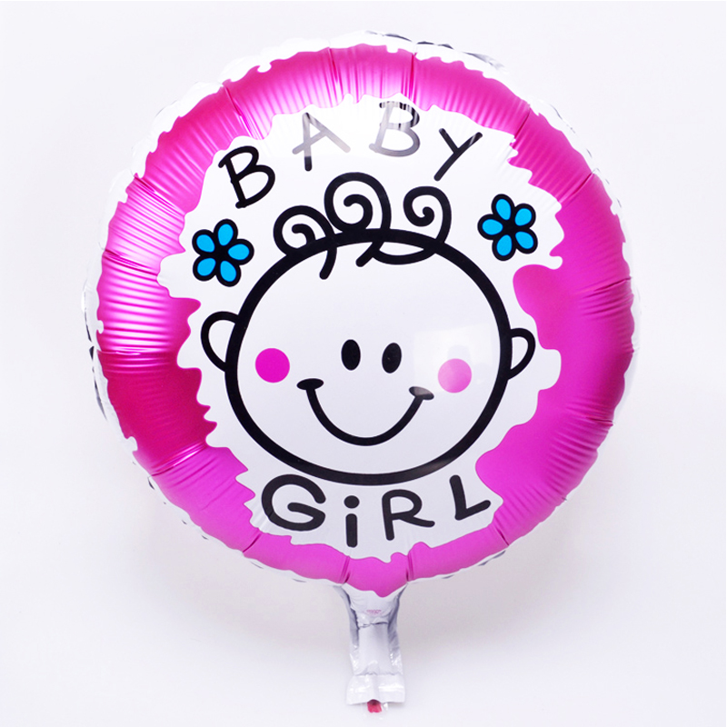 18 Inch Mylar Baby Balloon Globos Ballons Baby Birthday Party Shower