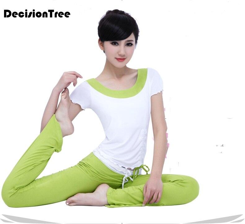 2019 été femmes yoga top + pantalons de sport costume yoga ensemble course fitness formation vêtements pour femmes sportswear pour femmes fitness