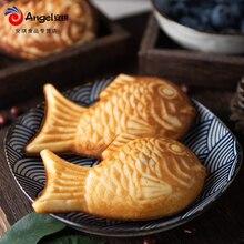 Bakerdream taiyaki japonês peixe em forma de waffle magikarp taiyaki pancake maker bakeware waffle pan maker 2 elenco casa waffle