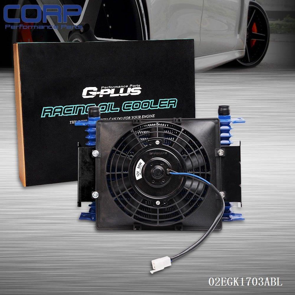 цена на 15 Row AN10 Universal Transmission Engine Oil Cooler Kit + 7