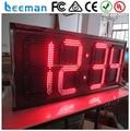 Leeman 2 цифр Высокое Качество Большой Водонепроницаемый Цифровой LED Wall Таймер Обратного Отсчета