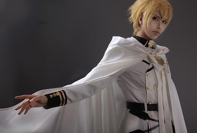 Seraph Of The End Owari No Seraph Mikaela Hyakuya Anime Cosplay Uniform Full Set Costumes Unisex Christmas New Year Carnival