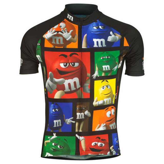 fe86ae4b Detail Feedback Questions about M&Ms 2018 Men's Cycling Jersey Quick Dry  Summer Team Funny Bicycle Clothing Cycle Wear Shirt Ropa Ciclismo MTB Bike  Jerseys ...