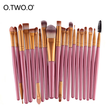 O.TWO.O Brush Set Soft Synthetic Hair Make Up Tool Kit Beauty Makeup Brush Eyeshadow Powder Foundation Cosmetic Cream Blush High high quality multi functional powder blush brush goat hair makeup brushes super soft make up brush cosmetic tool