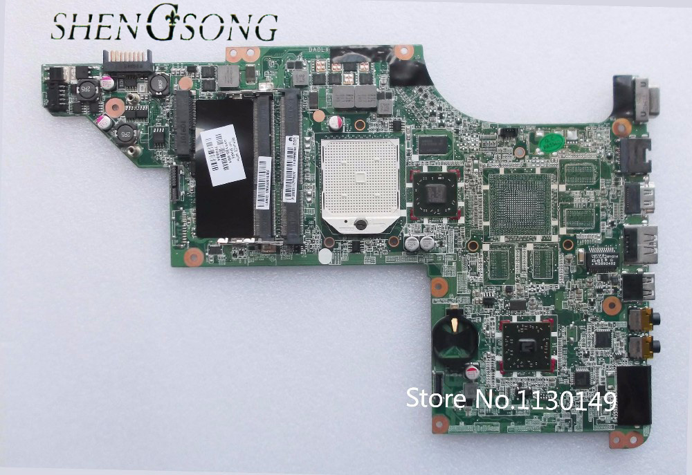 Free Shipping 595135-001 FOR Hp Pavilion DV6 DV6-3000 motherboard DDR3/ Integrated FULL TESTED 595135 001 laptop motherboard for hp pavilion dv6z 3200 dv6 3000 main board da0lx8mb6d1 ddr3 socket s1 free cpu