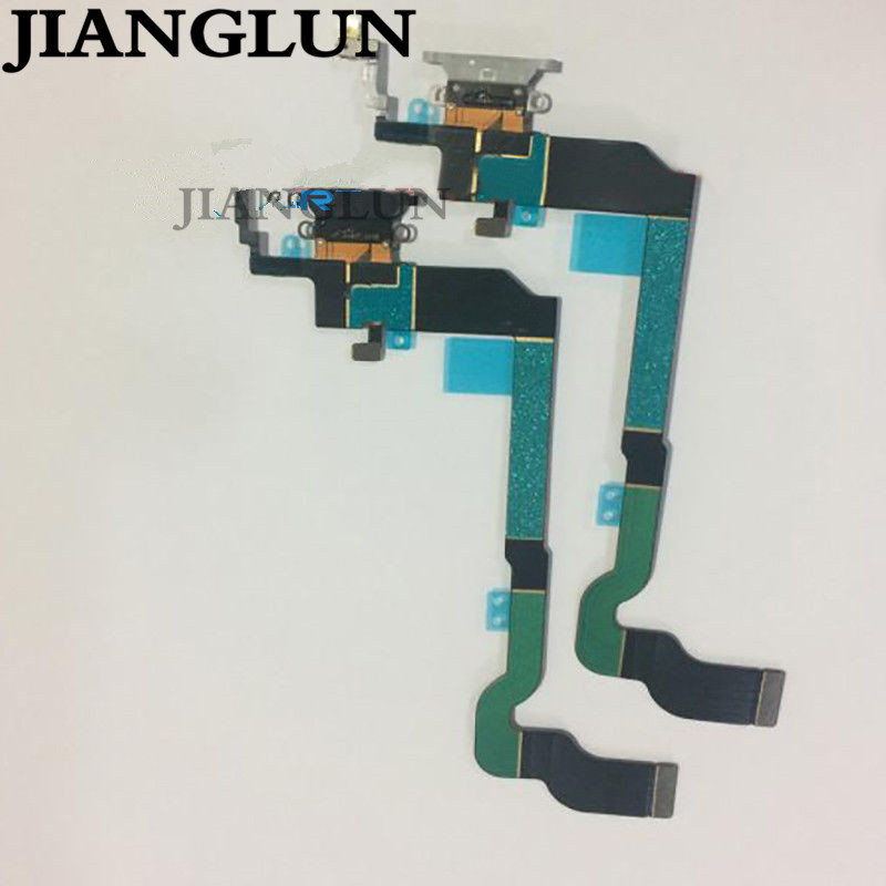 JIANGLUN Charging Port Headphone Dock Connector +Microphone Flex Cable For iPhone X 8XJIANGLUN Charging Port Headphone Dock Connector +Microphone Flex Cable For iPhone X 8X