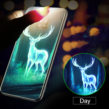 Mate20 Luminous Tempered Glass Case for Huawei