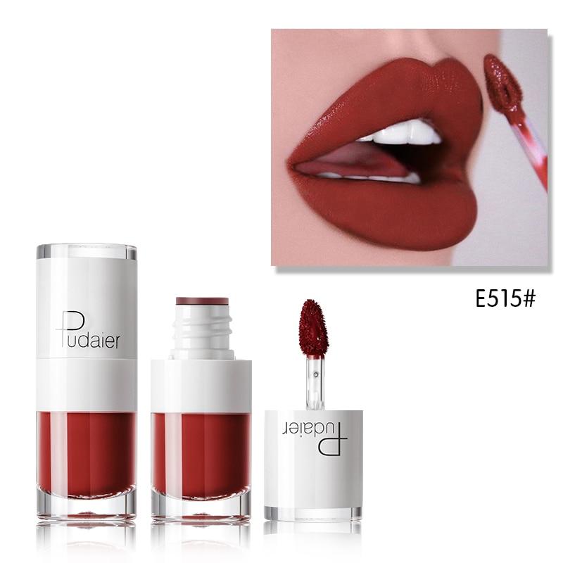 16pcs/Lot PUDAIER Lip Glaze Makeup Matte Liquid Lipstick Velvet Nude Waterproof Liquid Lipstick Set Lip Tint Lip Gloss Lipgloss
