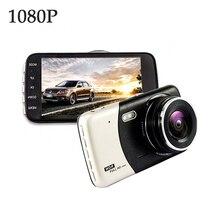 PARASOLANT 4,0 дюймов ips Экран Видеорегистраторы для автомобилей автомобиля Камера Full HD 1080 P видео 170 градусов T810 регистраторы двойной Запись тире Камера