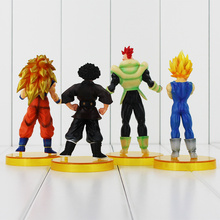 4Pcs Dragon Ball Z Figures 4th Action
