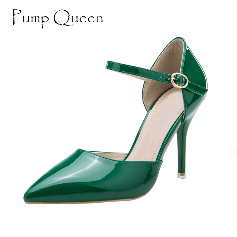Shoes Woman High Heels Women Pumps 2017 Spring Summer Female Shoes Elegant Wedding Shoe Green Red Nude Dress Heels Zapatos Mujer siketu 2017 free shipping spring and autumn women shoes fashion sex high heels shoes red wedding shoes pumps g107