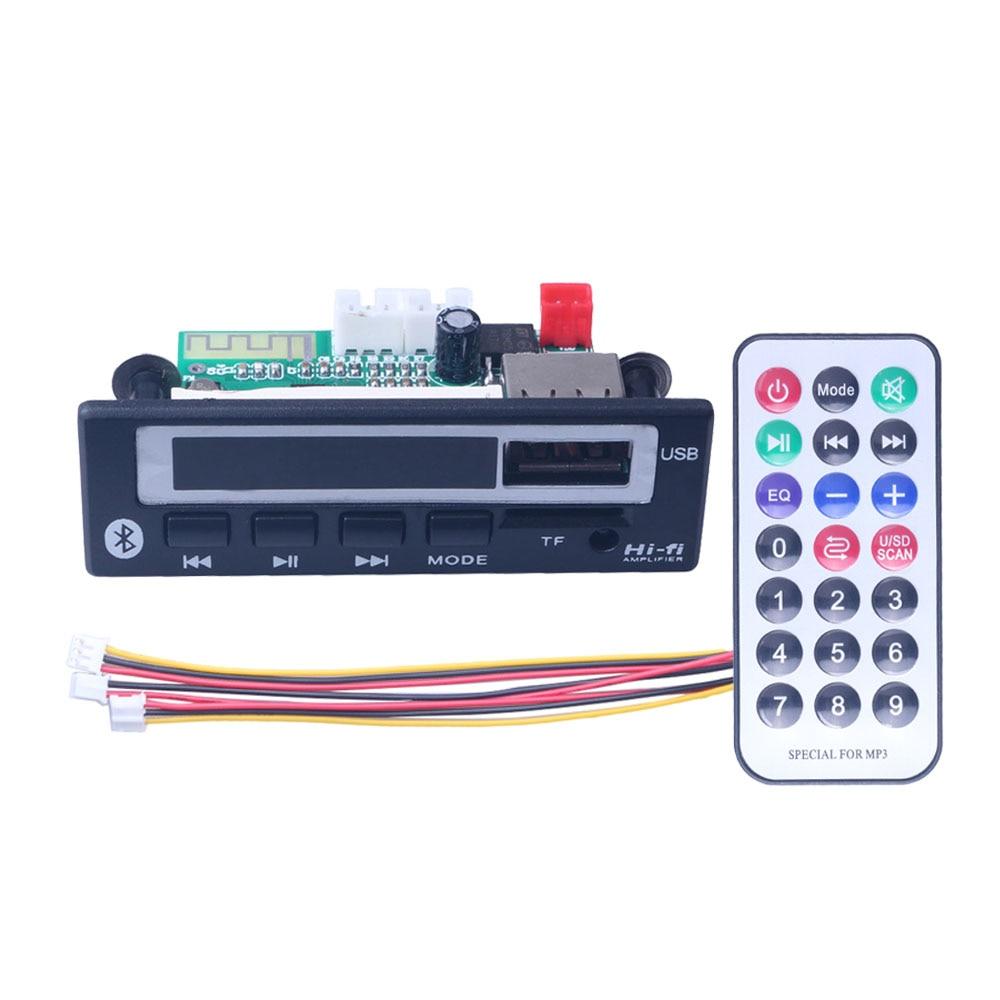 MP3 Decoder Tafel TF Reader IR Remote Bluetooth USB  FM Car Audio Tafel AHS