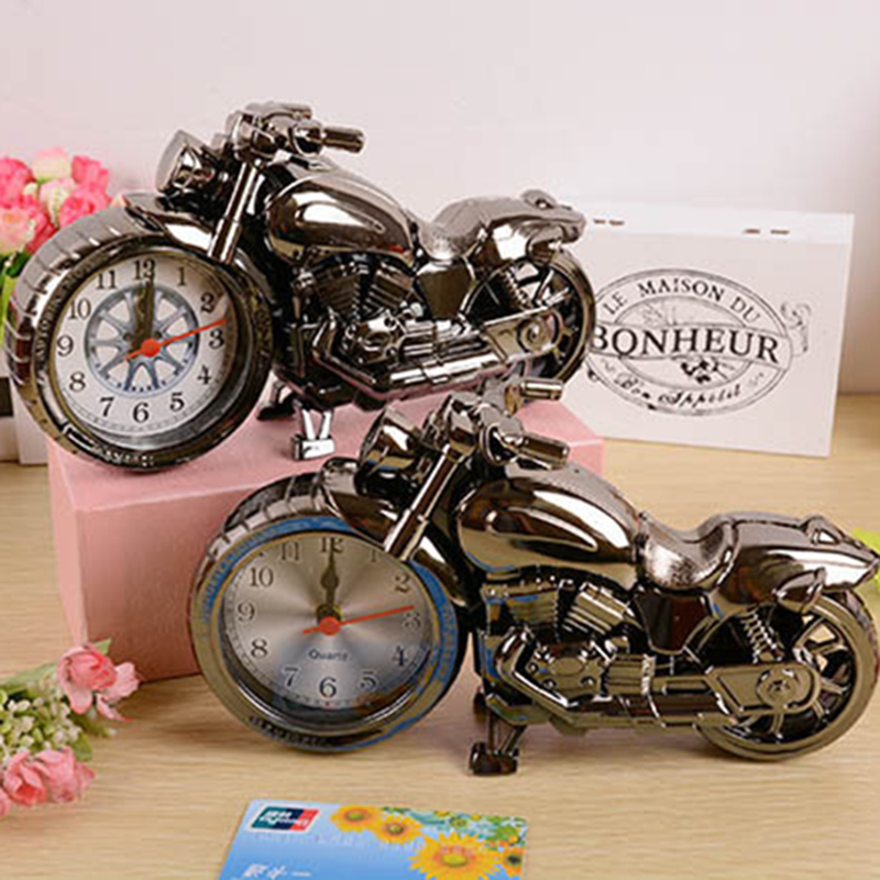 Nordic Style Kids Decor Motorcycle Small Ornaments Students Birthday Gifts Creative Fashion Lovely Home Decoration Accessories in Figurines Miniatures from Home Garden