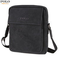 VICUNA POLO New Fashion Brand Leather Men S Shoulder Bag With Feather Vintage Multicolor Mens Crossbody