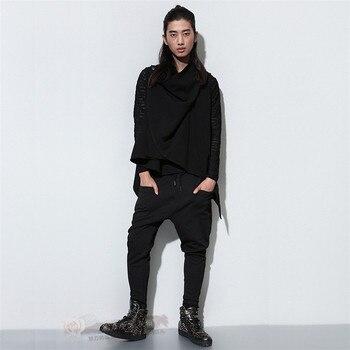 Four seasons slim casual pants   harem hiphop jeans fashion loose trousers