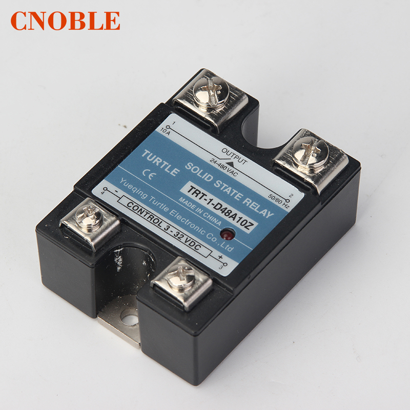 CNOBLE Industrial Solid State Relay SSR with Protective Flag SSR-60DA SSR-80DA SSR-100DA SSR-120DA 60A 80A 100A 120A DC new and original sa34080d sa3 4080d gold solid state relay ssr 480vac 80a