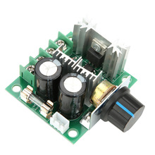 цена на 12V-40V 10A PWM DC Motor Governor Stepless Variable Speed Control Switch Module 1-400W DC Motor Speed Controller