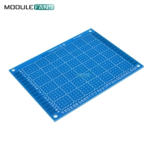 5PCS 7*9 7*9cm 7x9 cm 7x9cm Single Side Prototype PCB Tinned Universal Breadboard 70mmx90mm 70x90mm FR4 Bread Board DIY