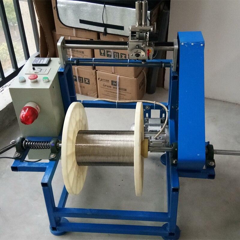 Bobineuse automatique bobineuse fréquence Machine de conversion emballage roue compteur comptage QP-400
