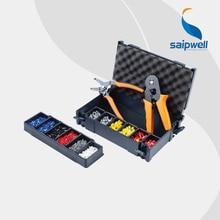 Saipwell FSZ-6D Crimping piler tool kits with HSC86-6(0.3-6mm2)&FSA-0626