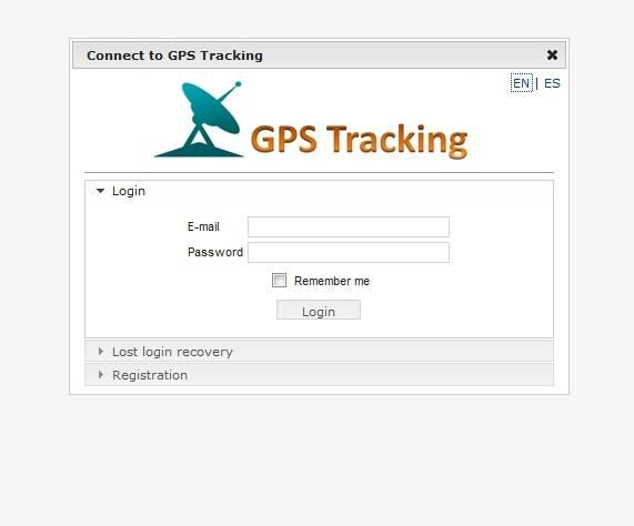 Vehicle tracking GPS Tracking Software server, Web platform