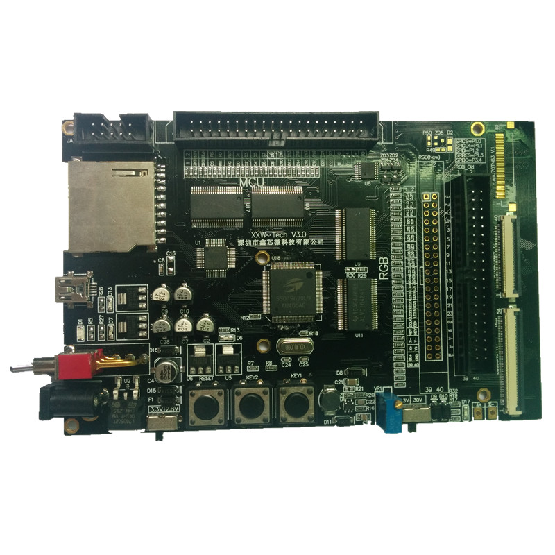 Color MCU/RGB/TFT test board SSD1963 development board Provide source code program