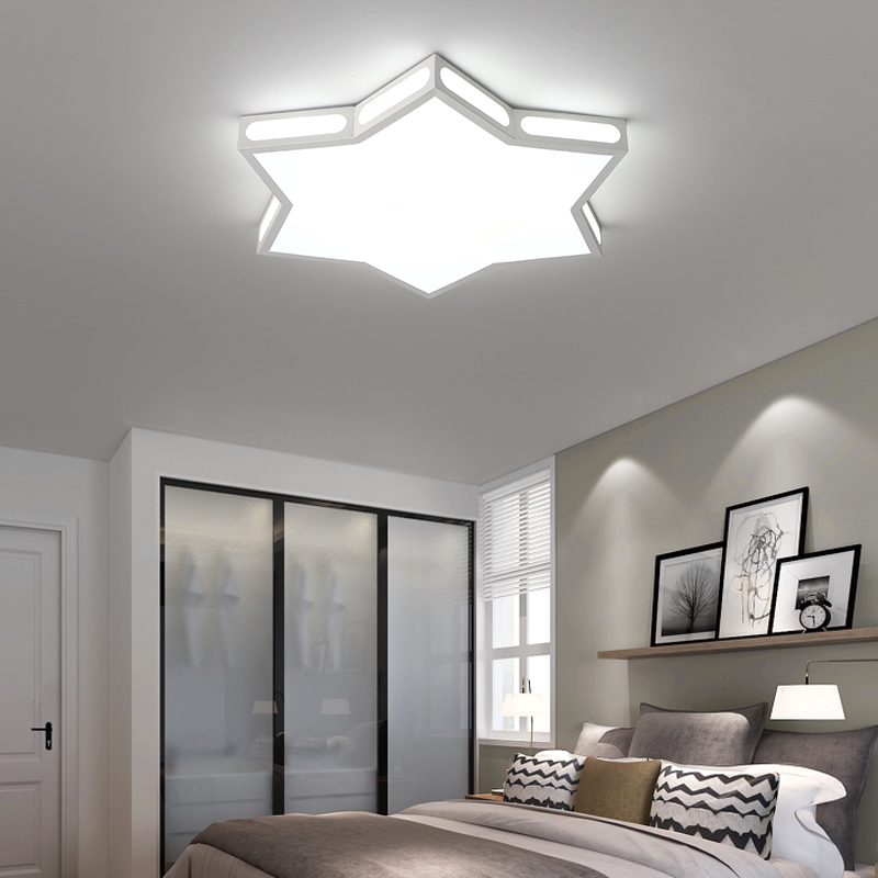 children room star led ceiling lights modern Led lamp for kids room protect eyesight plafonnier ceiling