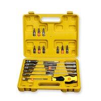 20pcs Tool Combination Torque Wrench Bicycle Car Repair Tool Set Ratchet Socket Spanner Mechanics Tool Kits