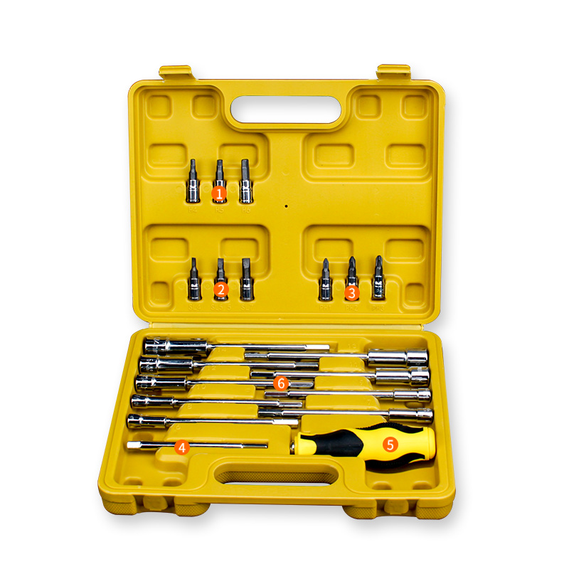 20pcs Tool Combination Torque Wrench Bicycle Car Repair Tool Set Ratchet Socket Spanner Mechanics Tool Kits berrylion 7pcs ratchet wrench spanner combination set 8 19mm open end torque spanner repair tools