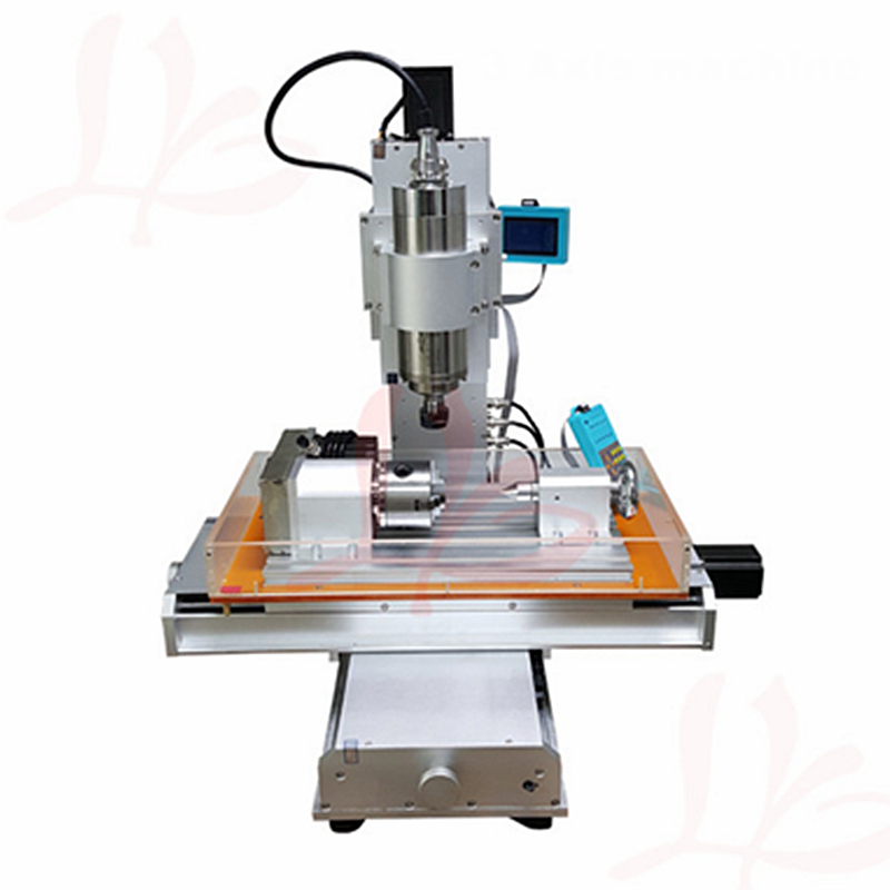 Ball Screw Table Column Type woodworking cnc router CNC 3040 engraving machine for metal milling machine with rotary axis 4 axis cnc 3040 mini cnc metal milling machine ball screw 800w spindle 3d engraving machine with 130mm z axis stroke