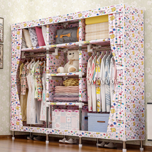 цена 2018 storage furniture When the quarter wardrobe DIY Non-woven fold Portable Storage Cabinet bedroom furniture wardrobe bedroom онлайн в 2017 году