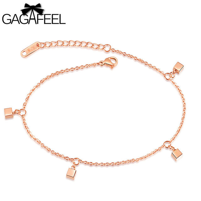 plated jewelry bracelet seviljewelry anklet gold index bead ball plain