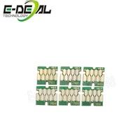 E deal T7821 T7826 Upgrade Ink Cartridge Chip For Epson SureLab D700 SL D700 Printer one time chip 6color/set 200ml