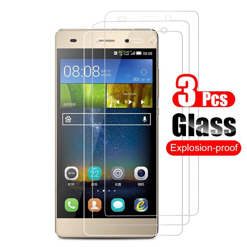 3 Pcs מזג זכוכית עבור Huawei P8 לייט 2015 מסך מגן עבור Huawei P8 לייט מגן סרט 9 H אנטי שריטה זכוכית