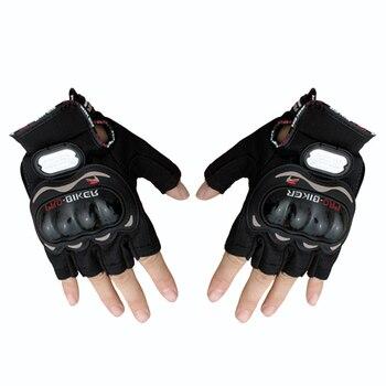 Guantes Protectores de medio dedo para ciclismo profesional, para hombre