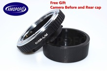 Amopofo, AR-LM  Adapter For Konica AR lens to for Leica M M9 M8 M7 M6 M5 M4 M220 TECHART LM-EA 7