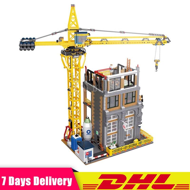 В наличии 2018 Лепин 15031 4425 шт. MOC серии классический строительной площадке строительные блоки кирпичи игрушки модель как рождественские пода