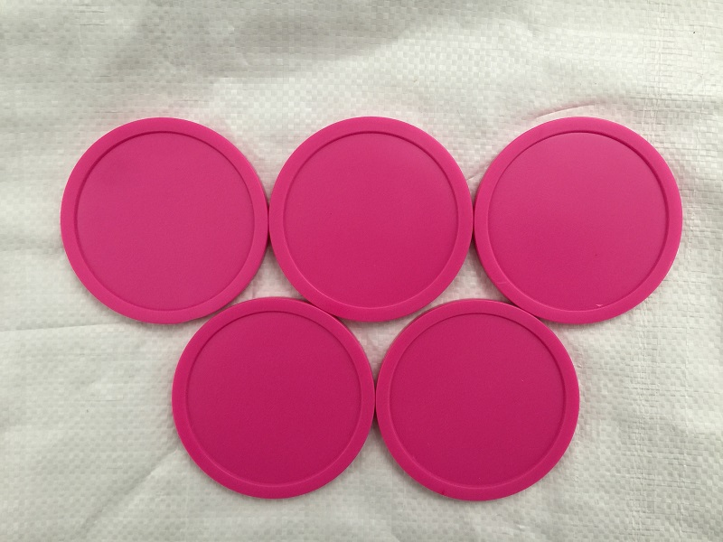 Free Shipping 5pcs/lot Pink Air Hockey Table Pusher Puck 63MM 2-1/2