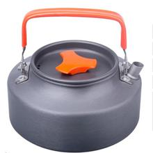 Открытый Отдых Алюминий 1.1L Портативный кофейник чайник воды чайник с мешок сетки чайник выживания чайник туристское снаряжение