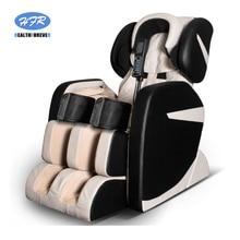 цена на HFR Portable Music 3D Shiatsu S+L Shape Chinese Korea Electric Leg Full Body Care Luxury Cheap Massage Chair 4d Zero Gravity