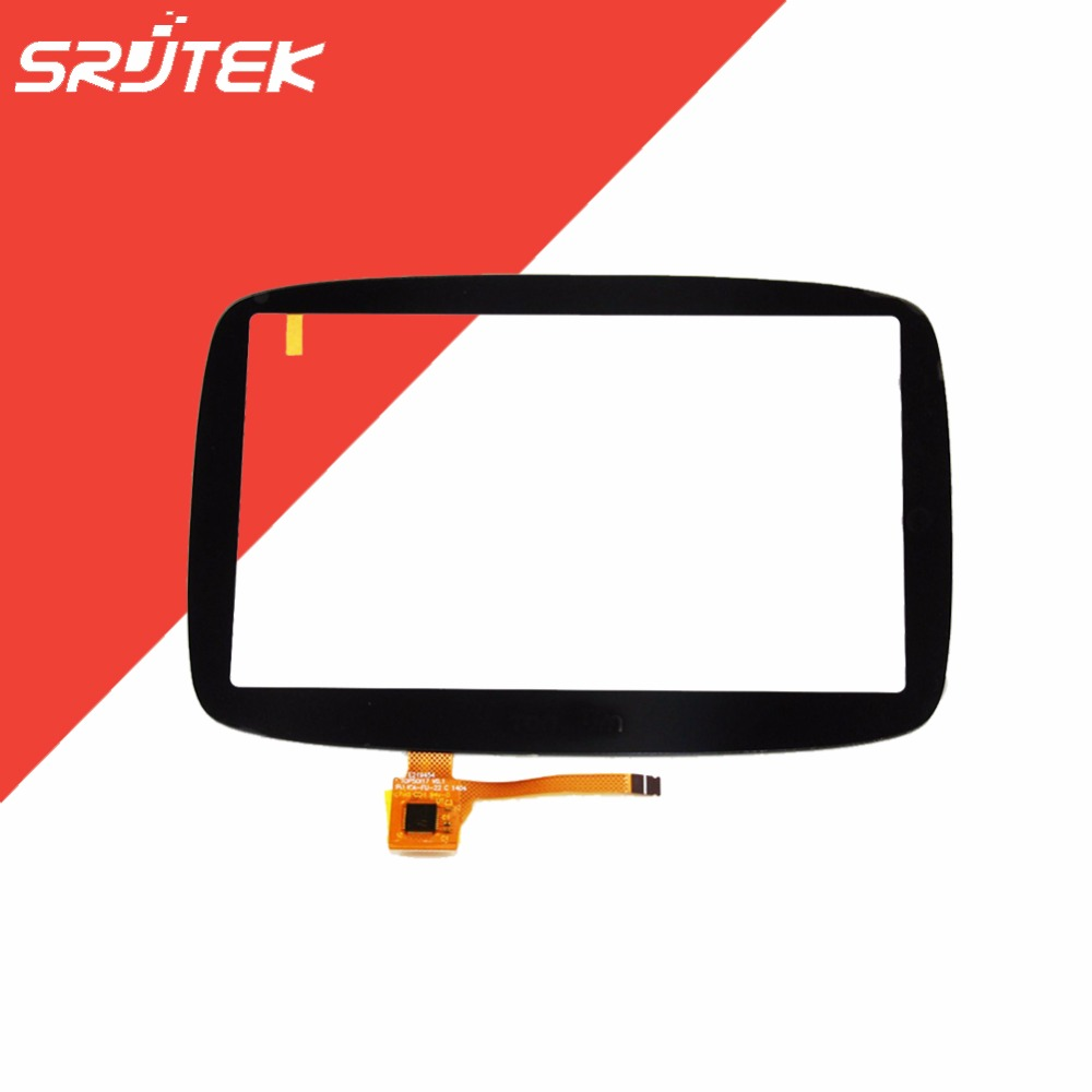 OEM New Parts For Tomtom GO 500 GO 5000 Touch Screen Digitizer Glass Sensor Panel Lens Replacement