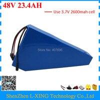 Free Customs Duty 1000W 48V 23 4AH Ebike Battery 48V 23AH Lithium Battery With Free Bag