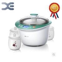 High Quality 1 Pot 4 Liner Electric Cookers 2.5L Slow Cooker 220V Mini Casserole Crockpots Cooker