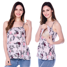 Maternity clothes nursing top Summer Tank Tees for Pregnant Women 2016 New Breast Feeding Pregnancy Clothing