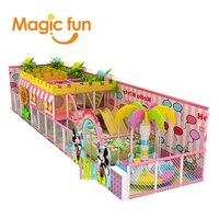 Волшебный весело крытая игровая зона игровой дом пластиковые малыш слайд indoor