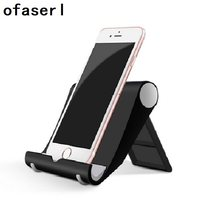 for xiaomi phone holder for iphone Universal cell desktop stand for phone Tablet Stand mobile support table free shiping(China)