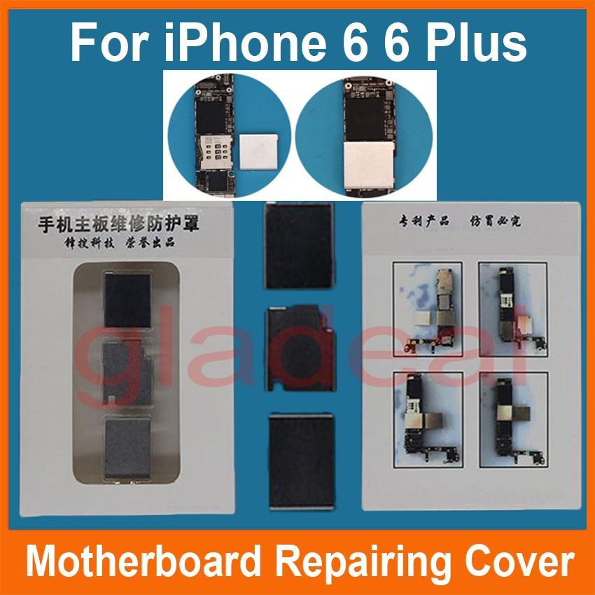 Motherboard Repairing Cover To Protect CPU Chip IC For iPhone BGA Hot Air Gun Soldering Station Welding Repair x810480 002 for xbox360 bga cpu